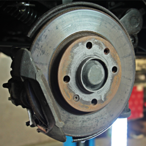 Front Brake Pads/Rotor Service